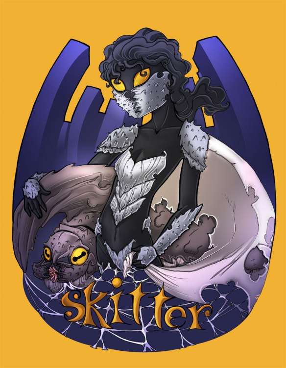 Skitter, by Deebs, Drunkfu and Scarfgirl